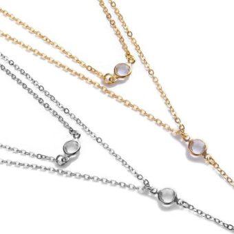 collier long avec pendentif 2
