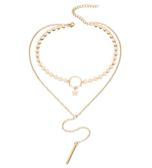 collier multirang cercle