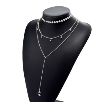 collier multirang lune 2