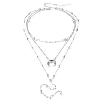 collier multirang original femme