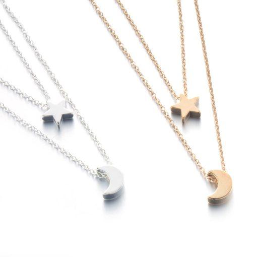 collier multirangs etoile