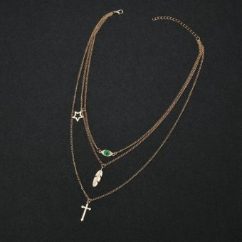 collier or femme 2