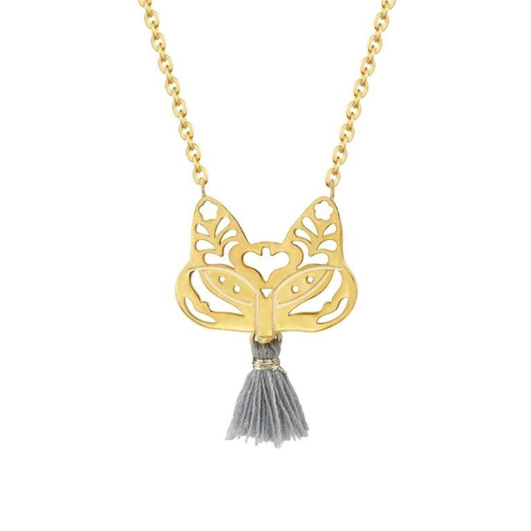collier avec pendentif femme