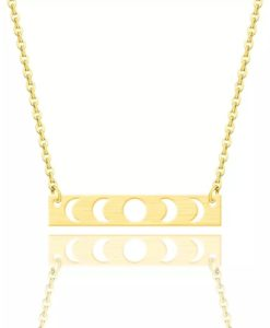 collier fantaisie tendance or