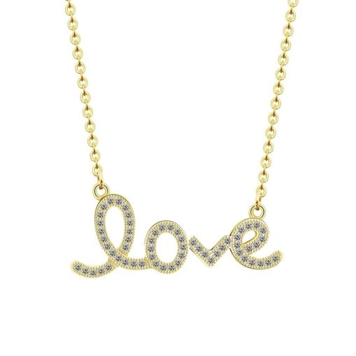 collier amour Love