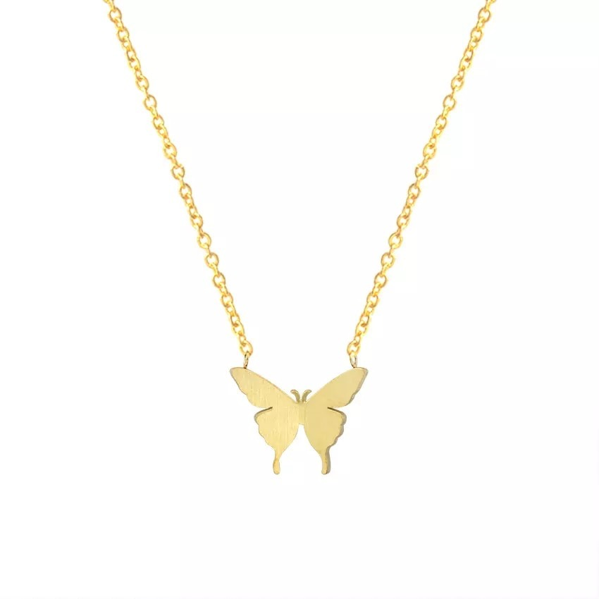 collier papillon