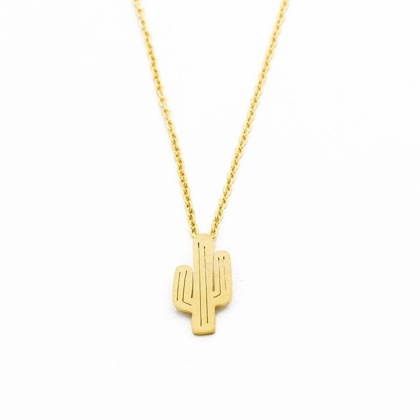 collier pour femme plaque or