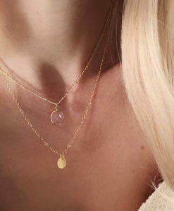 Collier multirang fait main