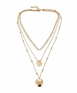 Collier multirangs tendance 2020