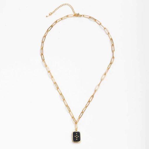 Collier tendance 2020- collier geometrique